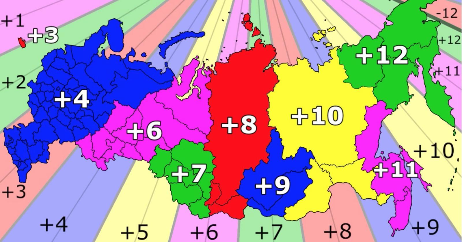 Carte Fuseaux Horaires Europe.La Russie Fuseau Horaire Carte Des Fuseaux Horaires En