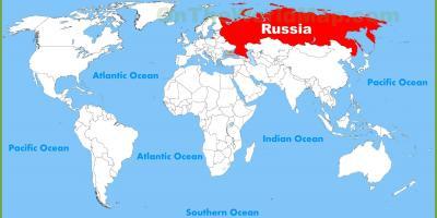 Carte Du Monde Russie | popkensburg