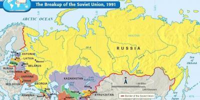 La Russie Carte Cartes De La Russie Europe De Lest Europe